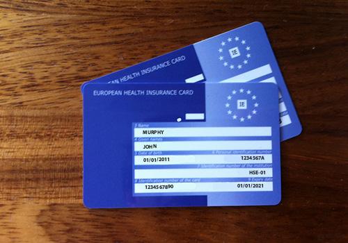 European Health Insurance Card Ballsbridge Medical